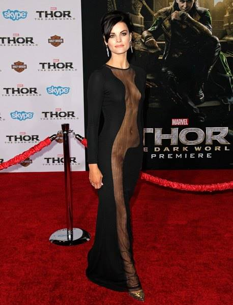 Celebrities attend THOR: THE DARK WORLD Premiere at El Capitan Theatre.Featuring: Jaimie AlexanderWhere: Los Angeles, CA, United StatesWhen: 05 Nov 2013Credit: Brian To/WENN.com
