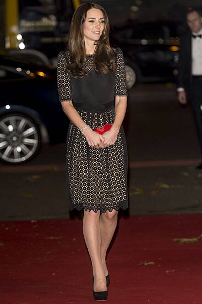 The Duchess Of Cambridge Attends The SportsAid Annual Dinner