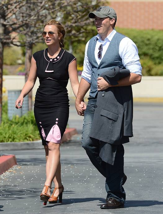 Britney Spears and rumored boyfriend David Lucado holding hands making it official