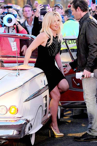Britney Spears makes her Grand Entrance in Las Vegas