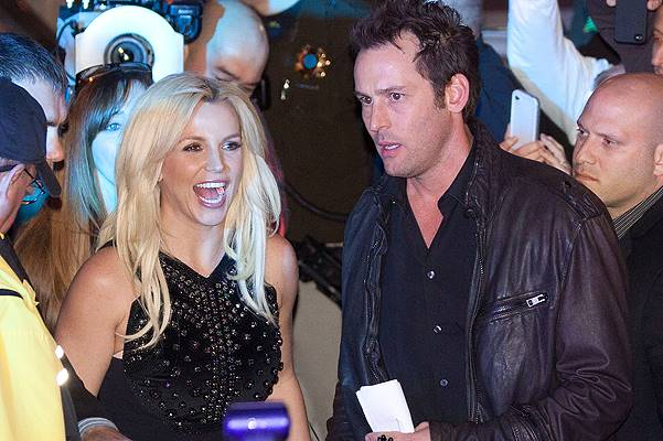 Britney Spears' grand arrival at the Planet Hollywood Resort & Casino in Las Vegas