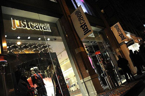 Just Cavalli Soho Flagship Store Opening