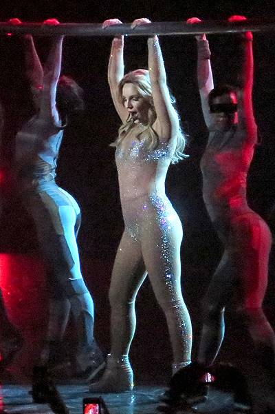 Britney Spears performs the first night of her 2 year Las Vegas residency at Planet Hollywood