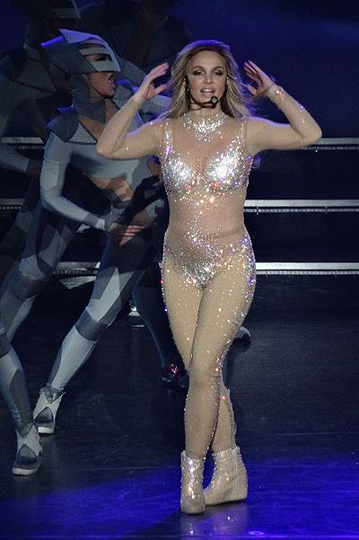 'Britney: Piece Of Me' opening night at the Planet Hollywood Hotel in Las Vegas