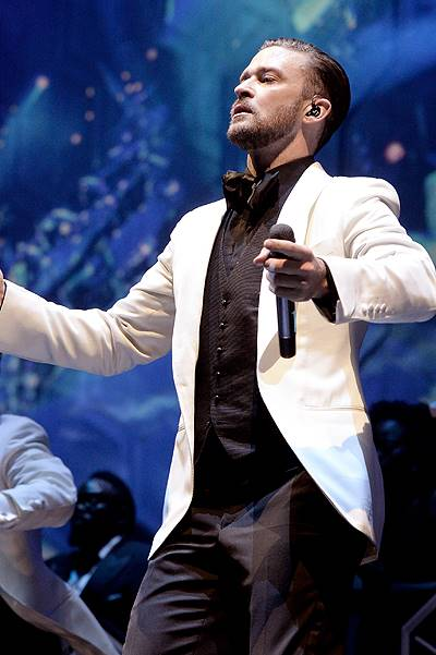 Justin Timberlake Performs At The Staples Center