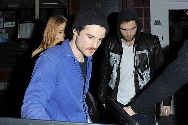 Sienna Miller throws a birthday party for her boyfriend Tom Sturridge London