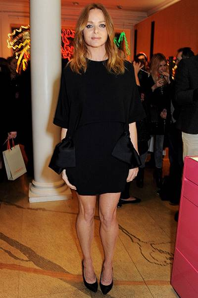 Stella McCartney Christmas Lights Switch On