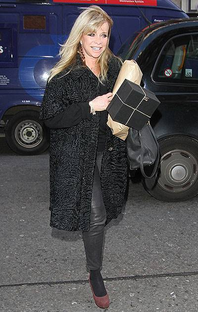 Kate Moss' 40th Birthday at 34 Restaurant - Arrivals Featuring: Jo Wood Where: London, United Kingdom When: 16 Jan 2014 Credit: WENN.com