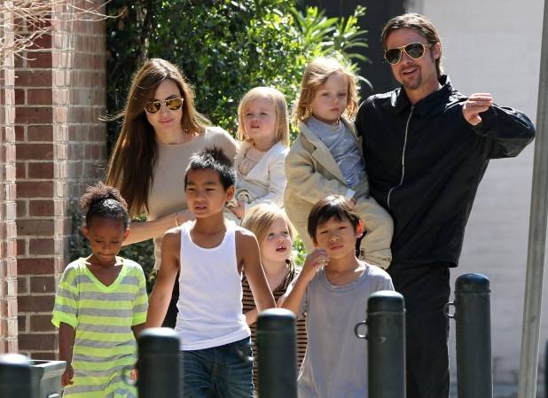The Jolie-Pitt Family Outing In New Orleans
