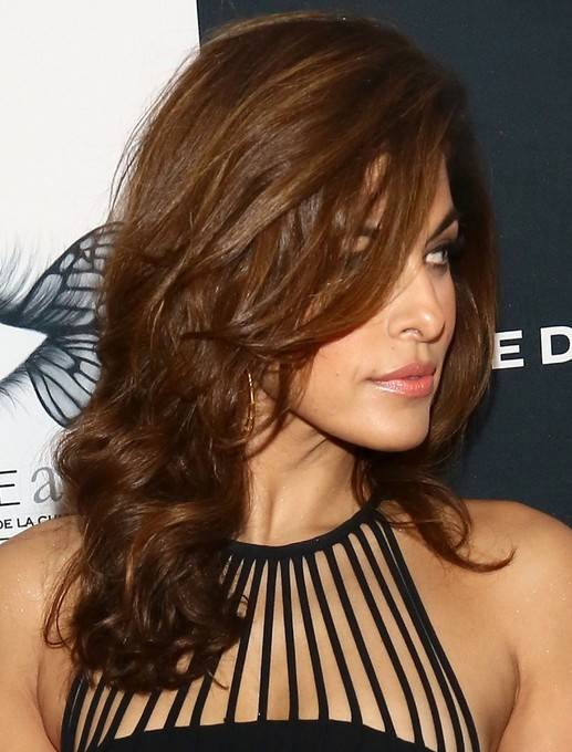 2014-Eva-Mendes-Hairstyles-Brown-Long-Hair