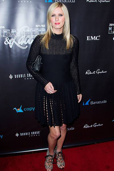 "11th Annual ""Leather & Laces"" two-night party presented by Axxis Sports & Entertainment during Super Bowl XLVIII in New York at  Liberty Theater, Times Square in New York City Featuring: Nicky Hilton Where: New York City, New York, United States When: 31"