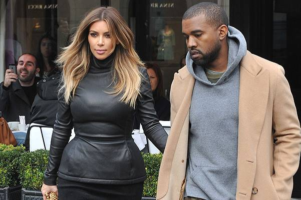 Kim Kardashian and Kanye West lunch at 'L'Avenue' Where: PARIS, France When: 19 Jan 2014 Credit: SIPA/WENN.com **Only available for publication in Germany. Not available for publication in the rest of the world.**