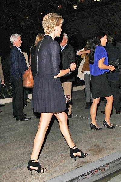 Charlize Theron and Sean Penn spotted at Bouchon in Beverly Hills, CA