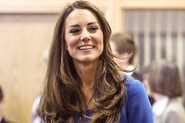 Catherine, The Duchess Of Cambridge Visits Northolt High School In London