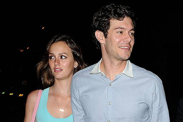 "Leighton Meester And Adam Brody Leaving The ""Some Girls"" After Party"