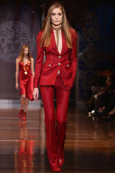 Versace - Runway - Milan Fashion Week Womenswear Autumn/Winter 2014