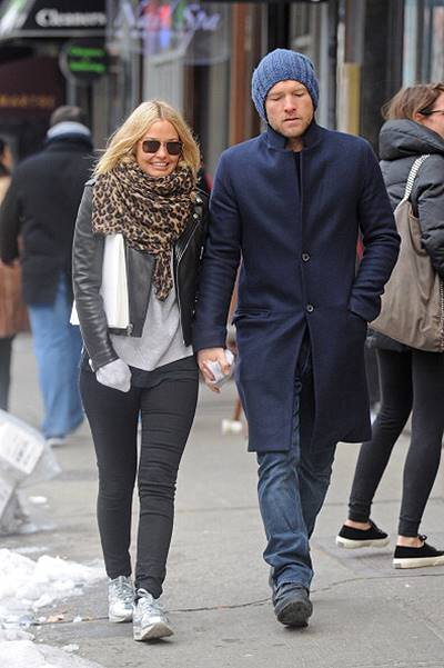 Celebrity Sightings In New York City - February 08, 2014