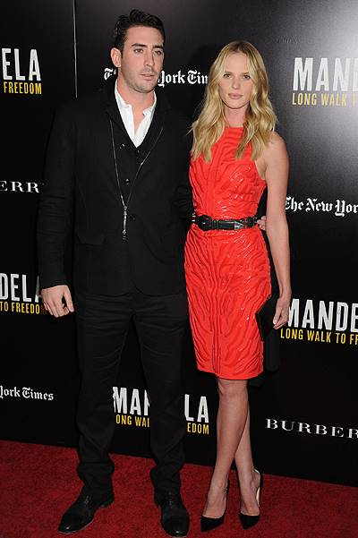 Arrivals for VIP screening of 'Mandela: Long Walk To Freedom' in NYC