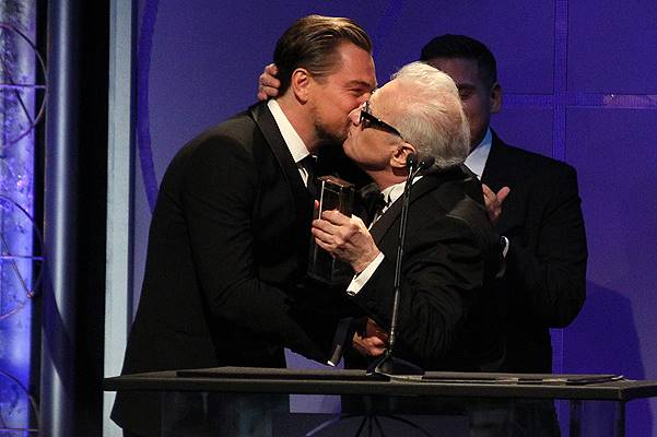 18th Annual Art Directors Guild Excellence In Production Design Awards_Show At The Beverly Hilton Hotel Featuring: Leonardo DiCaprio,Jonah Hill,Martin Scorsese Where: Beverly Hills, California, United States When: 09 Feb 2014 Credit: FayesVision/WENN.com