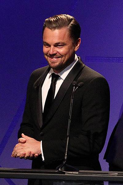 18th Annual Art Directors Guild Excellence In Production Design Awards_Show At The Beverly Hilton Hotel Featuring: Leonardo DiCaprio Where: Beverly Hills, California, United States When: 09 Feb 2014 Credit: FayesVision/WENN.com