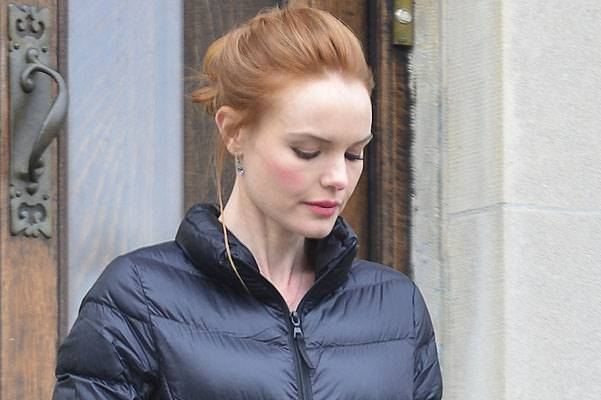 "Kate Bosworth on the set of ""Still Alice"" in New York City"