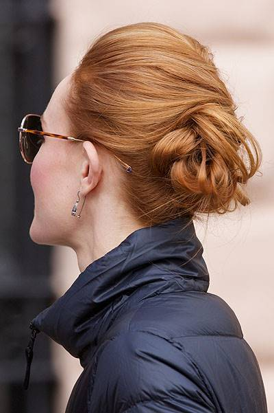 Celebrities on the set of 'Still Alice' shooting in Manhattan on a cold day Featuring: Kate Bosworth Where: New York City, New York, United States When: 04 Mar 2014 Credit: Alberto Reyes/WENN.com