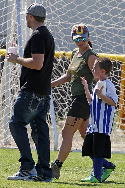 Britney Spears and David Lucado Attend Jayden's Soccer Game in LA - 2