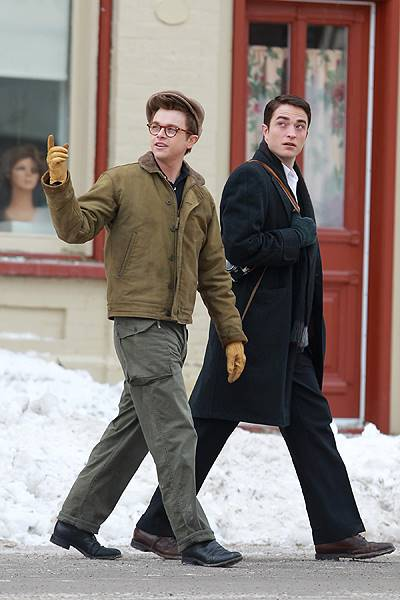 Robert Pattinson and Dane DeHaan film Life in Canada