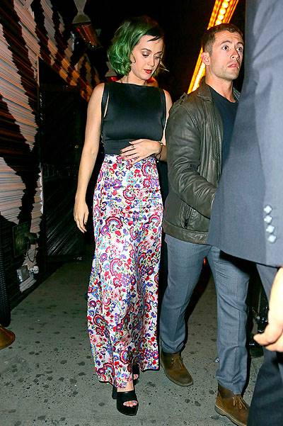 EXCLUSIVE: Katy Perry and American DJ Thomas Wesley spotted at dinner in NYC