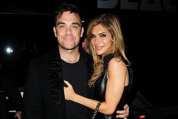 Robbie Williams and wife Ayda Field 'Pantos on Strike' at the Opera House Manchester - Arrivals Manchester, England - 16.11.10 Featuring: Robbie Williams and wife Ayda Field Where: Manchester, United Kingdom When: 16 Nov 2010 Credit: WENN