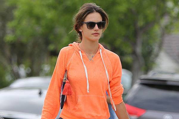 Alessandra Ambrosio with her son Noah
