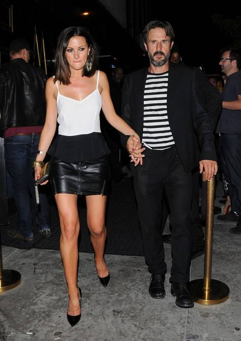 David Arquette & Christina McLarty Paint The Town Red
