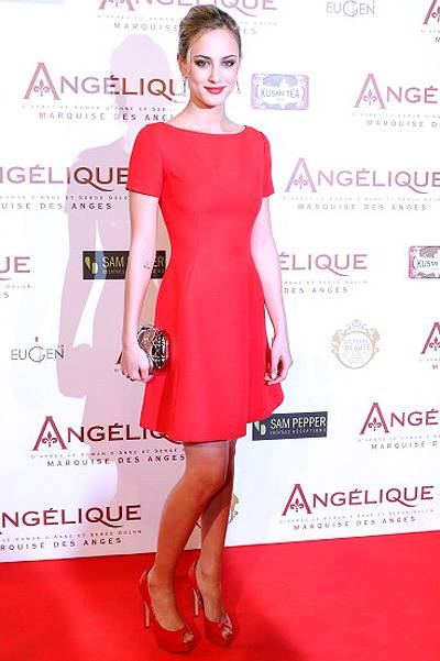 'Angelique' Paris Premiere At Gaumont Capucines Cinema