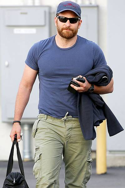 Bradley Cooper shows off his new Bulky Look **USA ONLY**