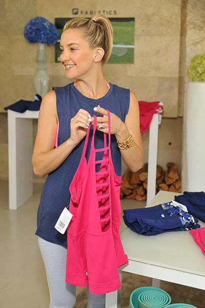 Kate Hudson Celebrates the Fabletics Spring Collection