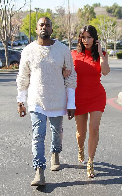 Kanye West takes fiancee Kim Kardashian to see the new movie 'Need For Speed' in Calabasas Featuring: Kanye West,Kim Kardashian Where: Los Angeles, California, United States When: 14 Mar 2014 Credit: WENN.com