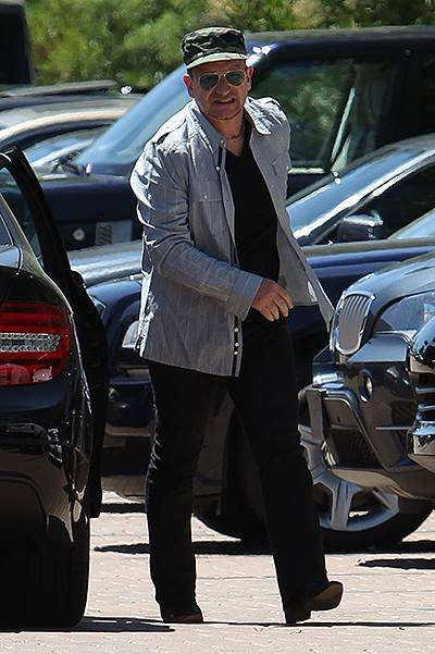 Bono arrives at Cafe Habana to have a joint birthday lunch with George Clooney and his fiancГ© Amal Alamuddin Featuring: Bono Where: Los Angeles, California, United States When: 12 May 2014 Credit: WENN.com