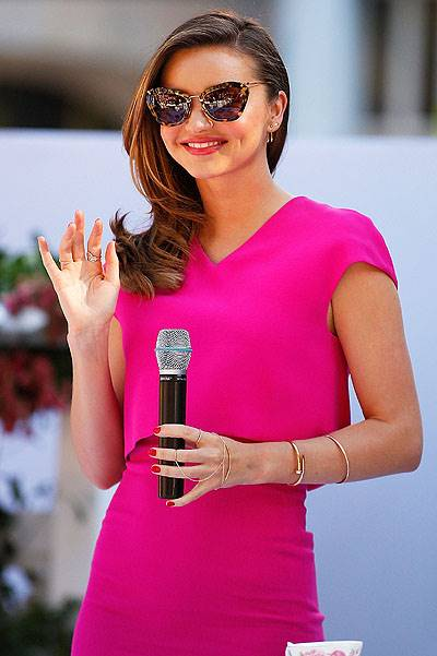 Miranda Kerr Public Appearance At Royal Albert Pop-Up Store Sydney