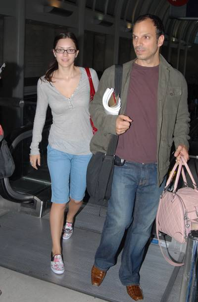Katharine and Nick Depart LAX