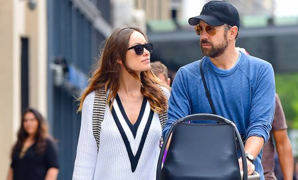 Olivia Wilde and Jason Sudeikis Memorial Day Weekend stroll with Otis