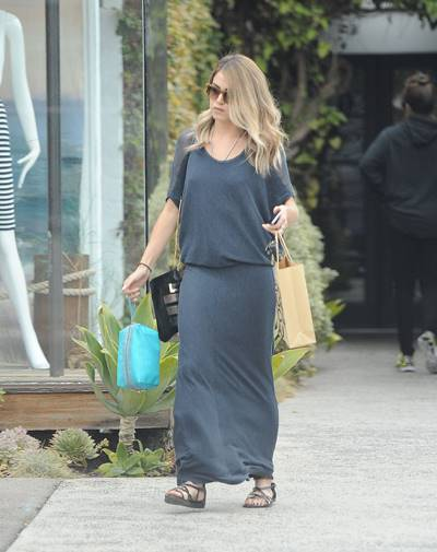 EXCLUSIVE Nikki Reed spotted leaving the salon after a touch up on her ombre hair color Featuring: Nikki Reed Where: Los Angeles, California, United States When: 24 May 2014 Credit: WENN.com