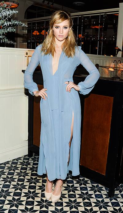 BURBERRY, LISA PHILLIPS, STEFANO TONCHI, and SUKI WATERHOUSE Host Dinner in Honour of NEW MUSEUM Artists