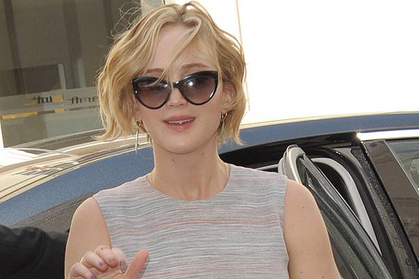 Jennifer Lawrence arriving at the Majestic Hotel Featuring: Jennifer Lawrence Where: Cannes, France When: 17 May 2014 Credit: WENN.com
