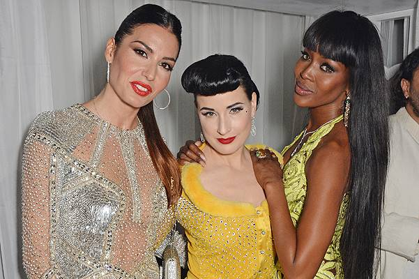 Naomi Campbell's Birthday Party At The Billionaire's Club
