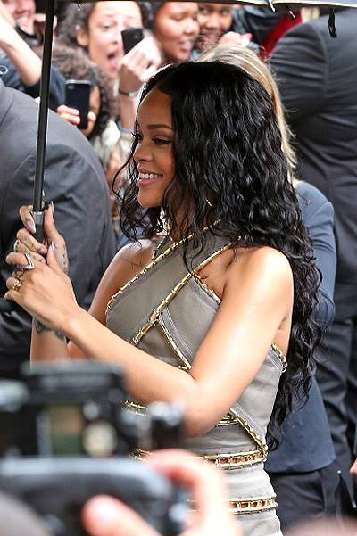 'Rogue by Rihanna' Launch At Sephora Champs Elysees International Flagship Store : Outside Arrivals