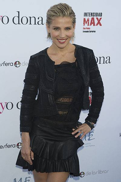 Actress Elsa Pataky has attended the launch party for her yoga book in Madrid