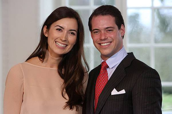 Prince Felix Of Luxembourg And Claire Lademacher Portrait Session