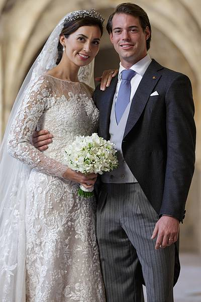 Wedding Of Prince Felix Of Luxembourg & Claire Lademacher : Reception At 'Couvent Royal'