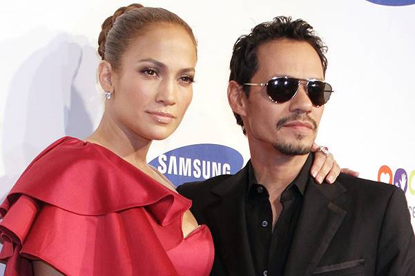 Jennifer Lopez and Marc Anthony 2011 Samsung Hope For Children Benefit Gala - Arrivals Featuring: Jennifer Lopez and Marc Anthony Where: New York City, United States When: 07 Jun 2011 Credit: WENN