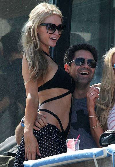 Paris Hilton hosts July 4th Beach Party in Malibu